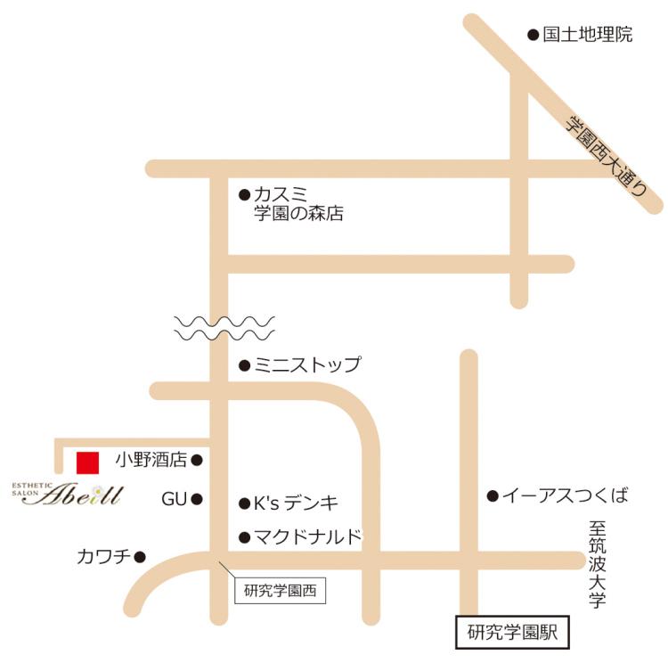 アベール詳細地図